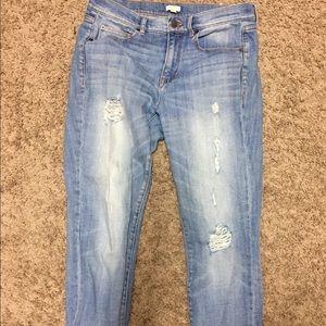 J. Crew boyfriend jeans, size 26